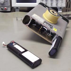 Mostrando los pack de baterías del HiPer