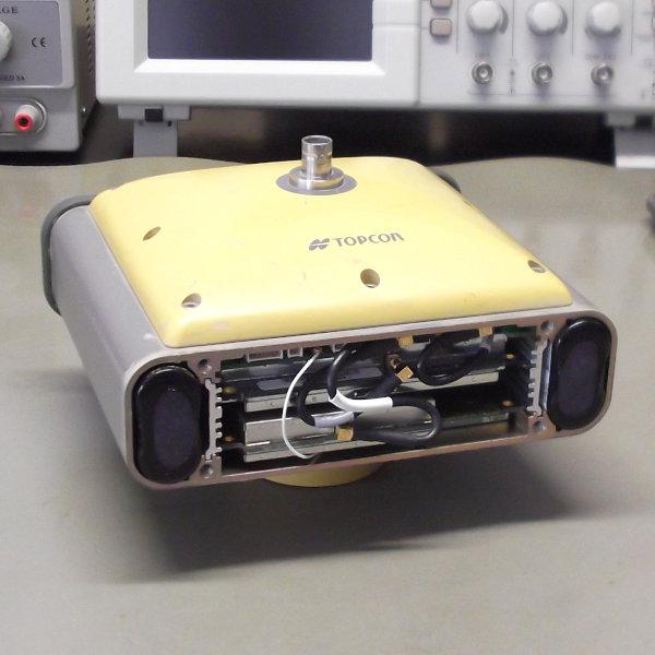 Baterías internas del GPS Topcon Hiper Pro