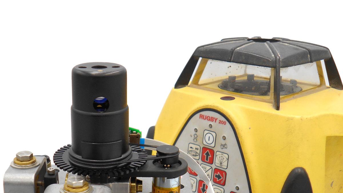 Módulo de nivelación y rotor de nivel láser Leica Rugby